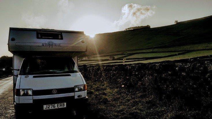 VW T4 sunrise