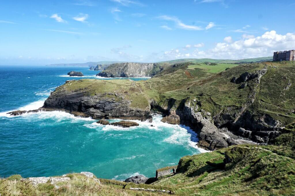 South West Coastal Path scenery
