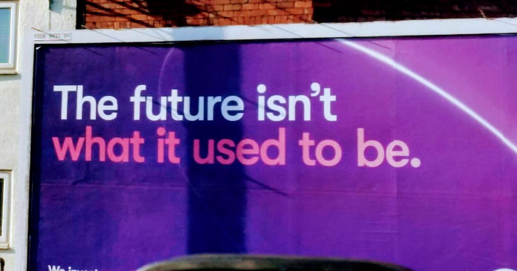 BT billboard in Wales