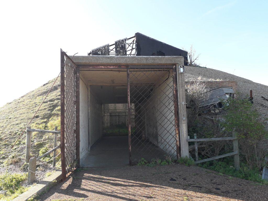missile testing bunker