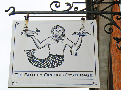 Orford Oysterage - The Wild Man of Orford