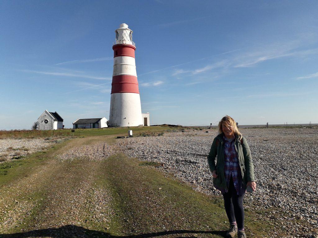 Hobo Trudi and the lighthouse