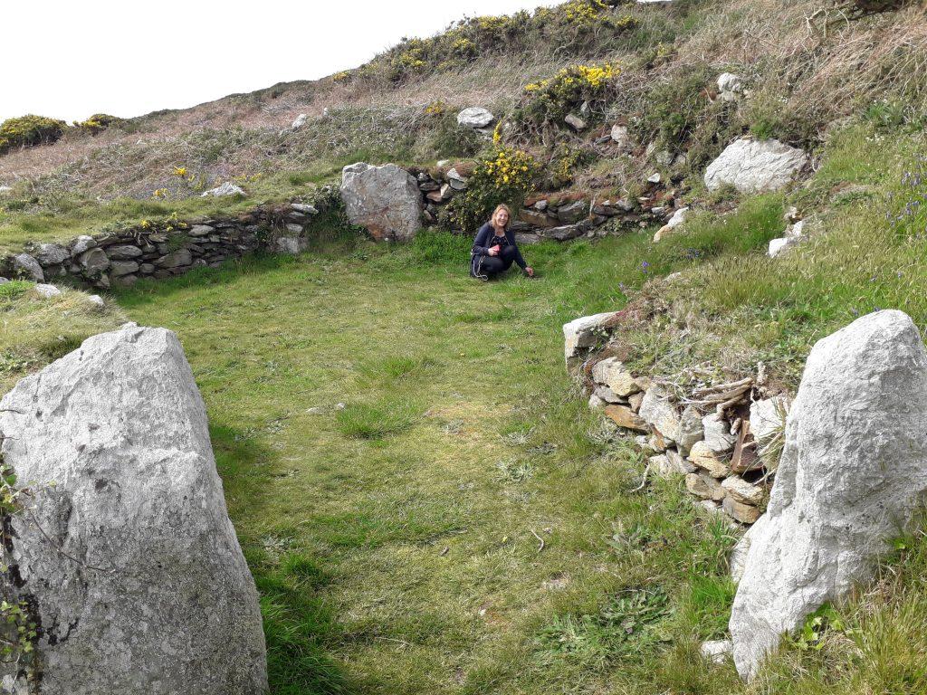 Circle Huts at South Stack, Holy Island, Anglesey