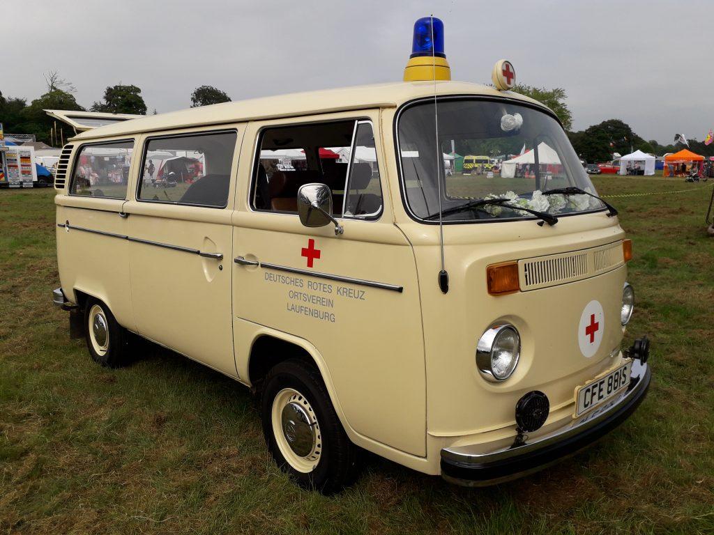 VW bay window ambulance