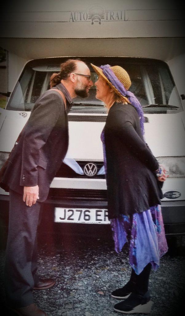 The Motorhome Hobos wedding day!