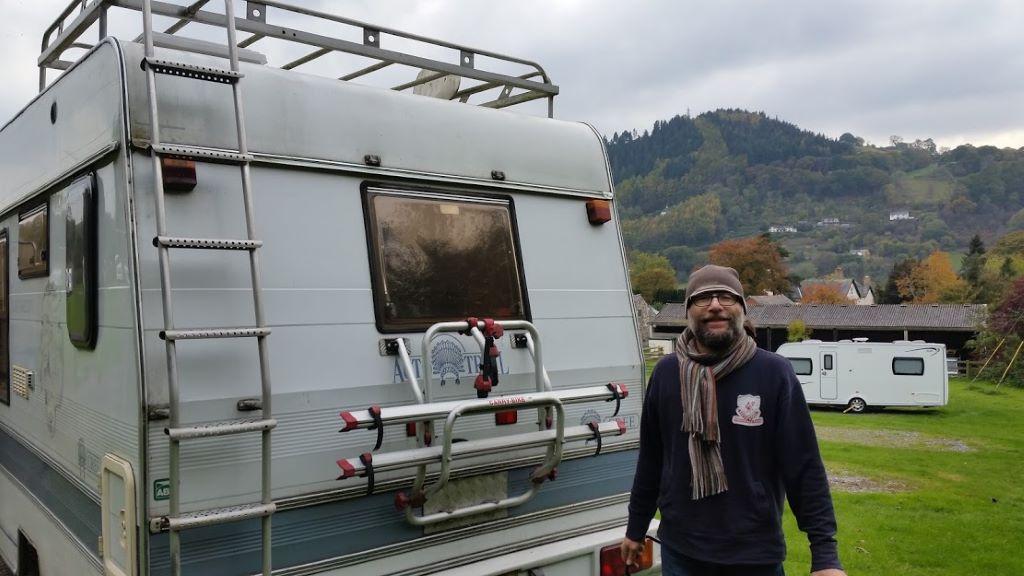 Gav back home with his ancestors in Llangollen