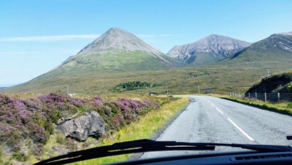 a magical drive on the isle of skye