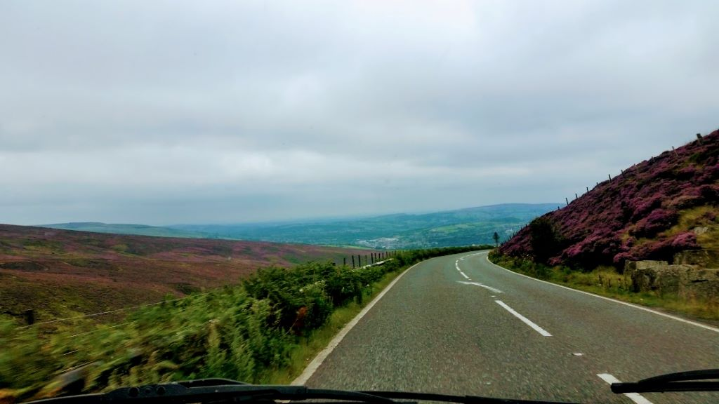 Snake Pass on the way to Glossop