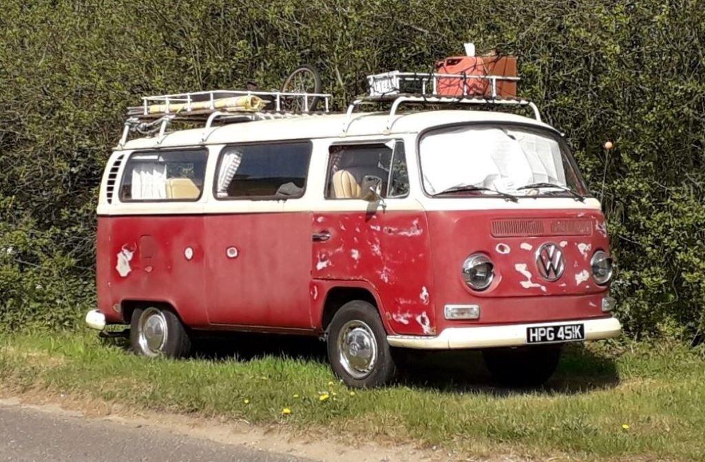 classic VW campervan T2