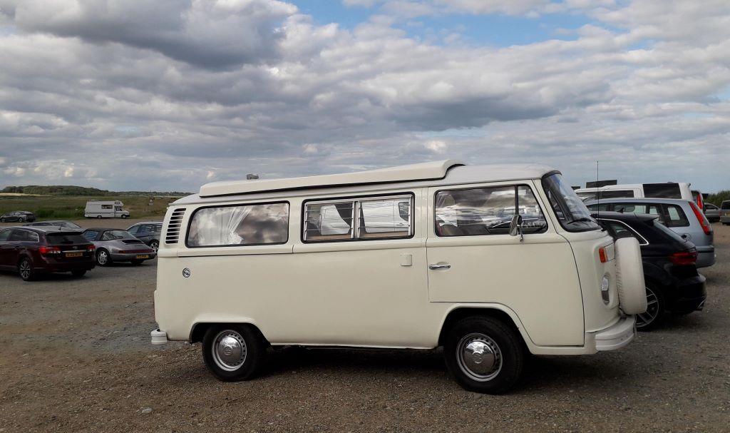 classic VW campervan