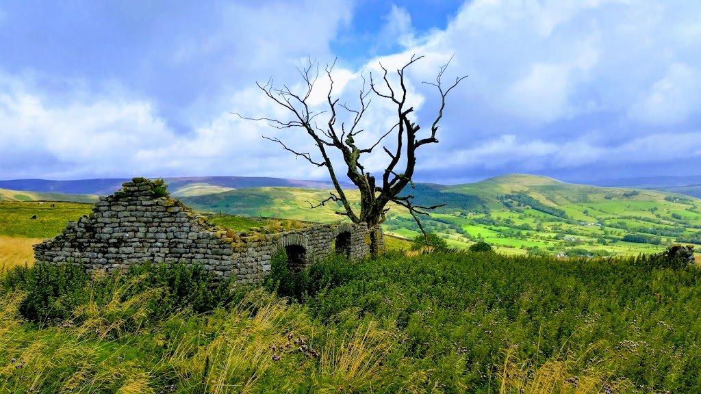 Shepherd's cottage near Castleton, Peak District, UK
