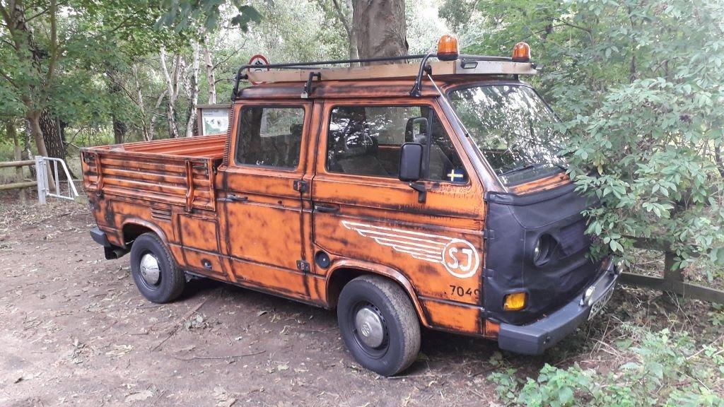VW double cab pick up van