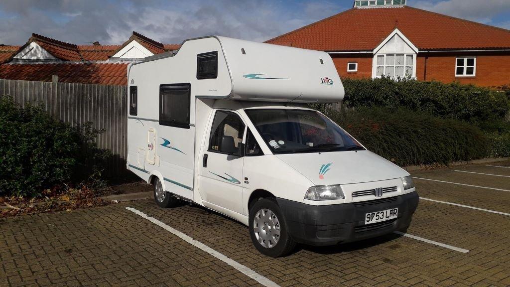 Fiat mini campervan