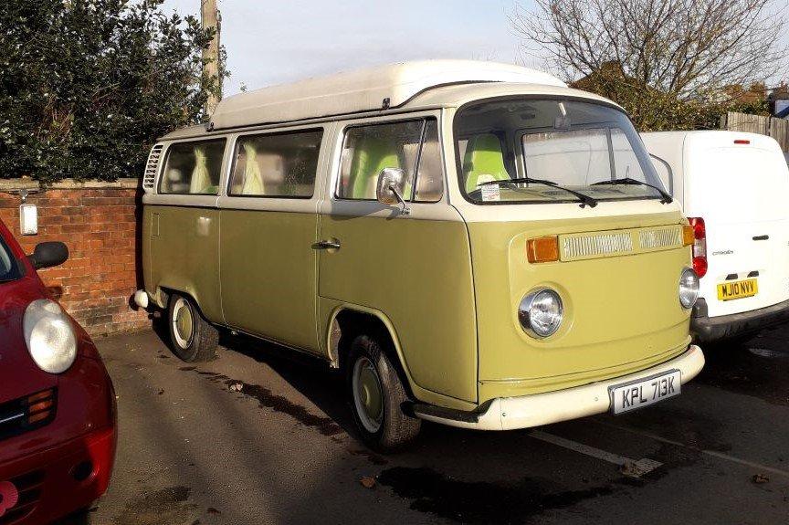 VW T2 Bay Window campervan in Stowmarket