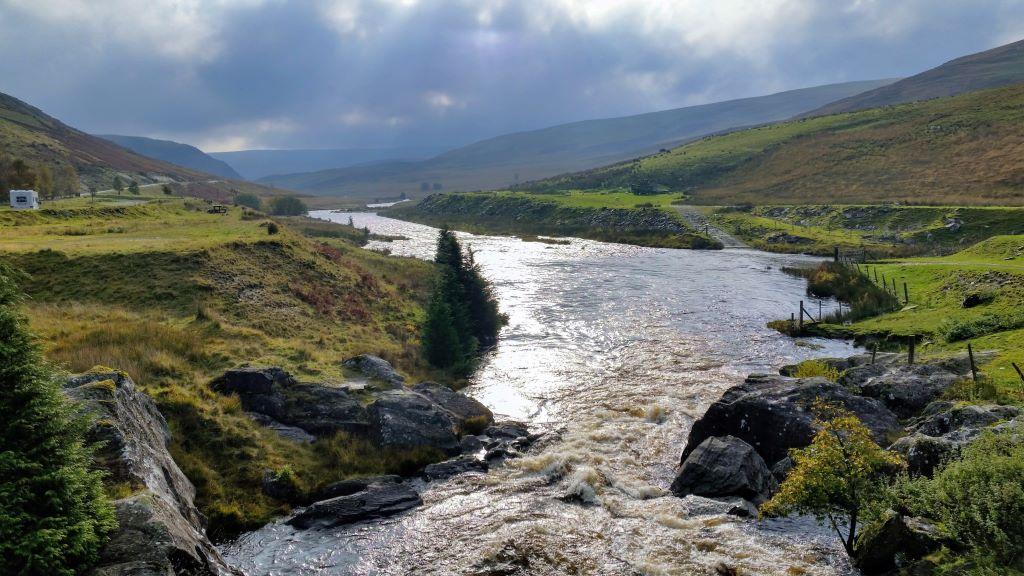 road trip in the elan valley, wales