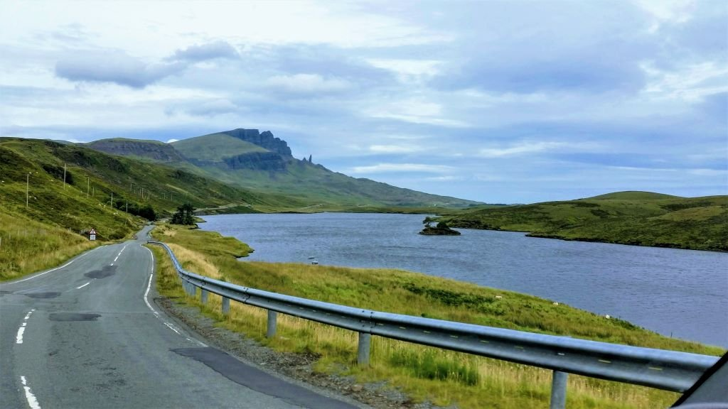 heading toward The Old Man of Storr on the Isle of Skye