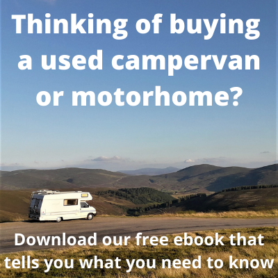 Thinking of buying a used campervan or motorhome