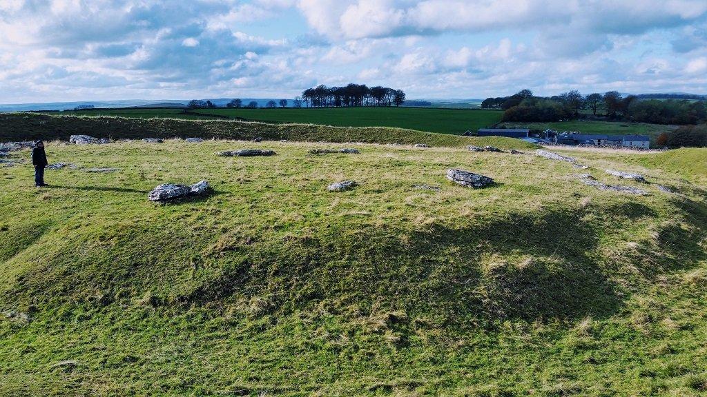 Ancient sites: Arbor Low, Henge and Stone Circle, Peak District