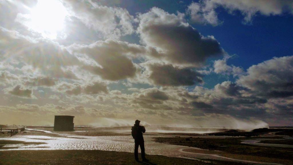 Felixstowe - spring high tides