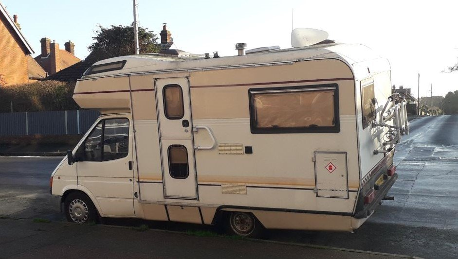 Ford Transit campervan