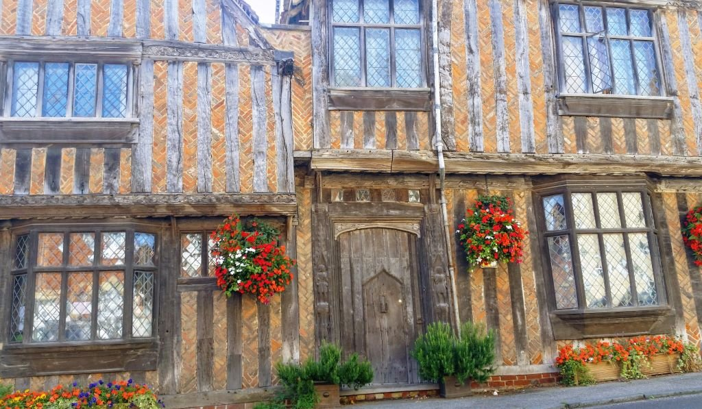 Harry Potter house in Lavenham, Suffolk