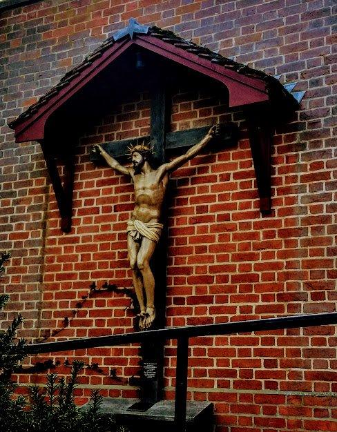 The Crucifix at the Shrine Church Walsingham