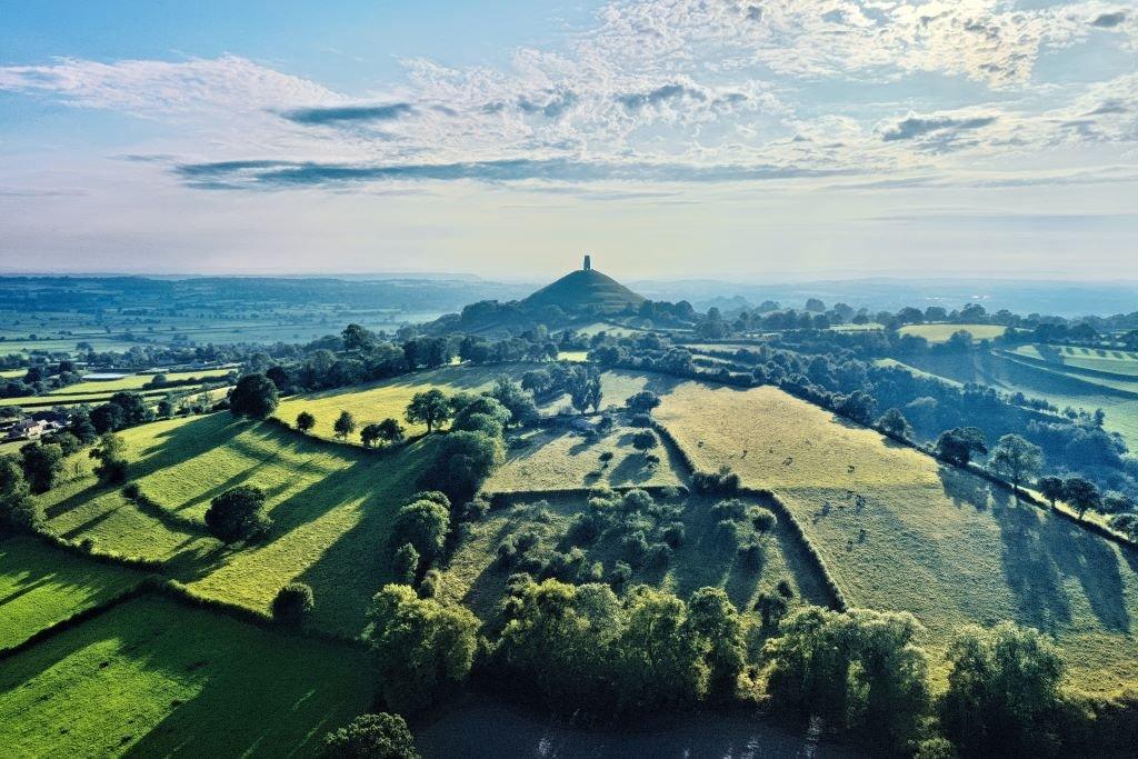 The Isle of Avalon - Glastonbury Tor
