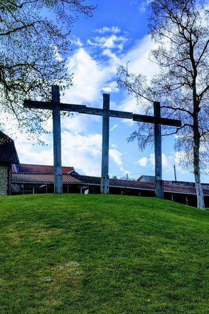 3 crosses - Easter 2017 at Walsingham
