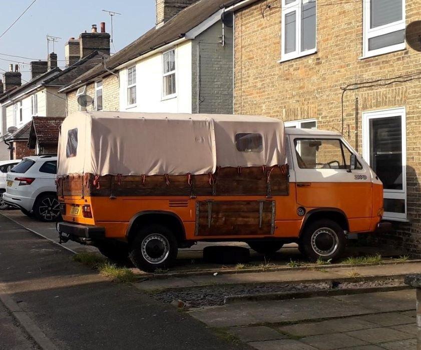 VW T3 pick-up van