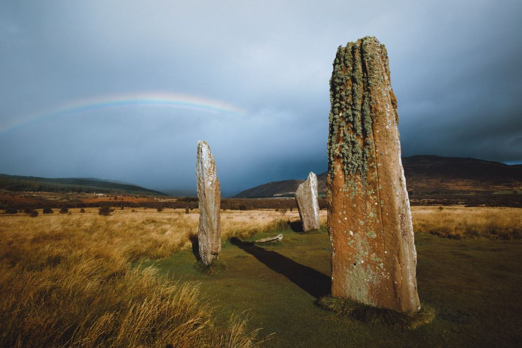 celtic spirituality - stone circle