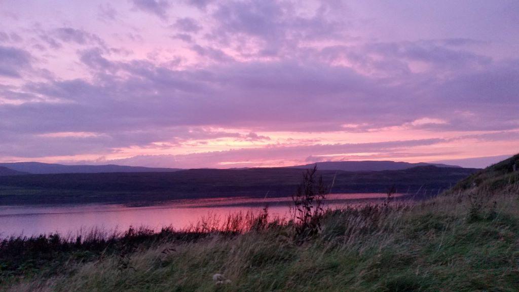 Isle of Skye Camping and Caravanning Club Site near Greshornish