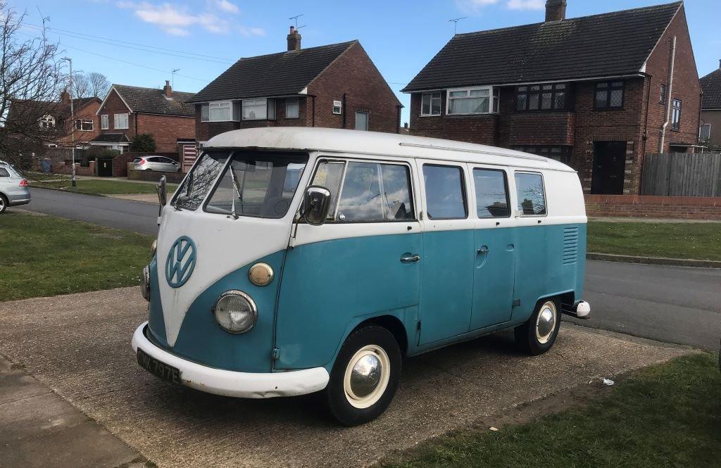 classic VW campervan Type 1 - 1967 split screen