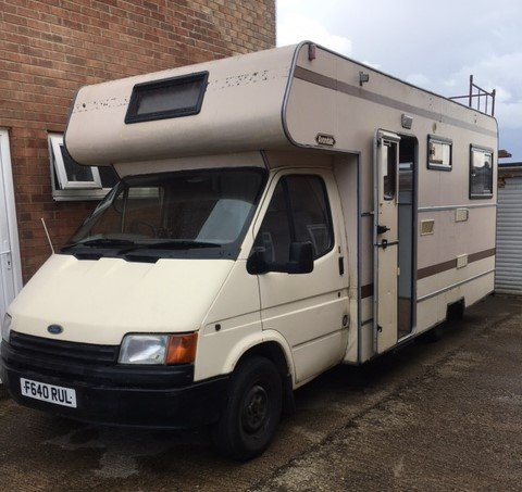 1989 Ford Transit campervan