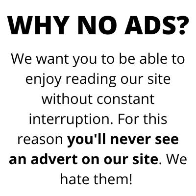why no ads?